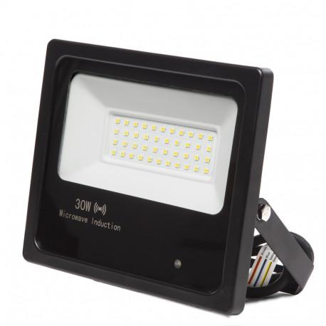 Foco proyector led smd 50w con sensor de movimiento - Foco con sensor de movimiento ...