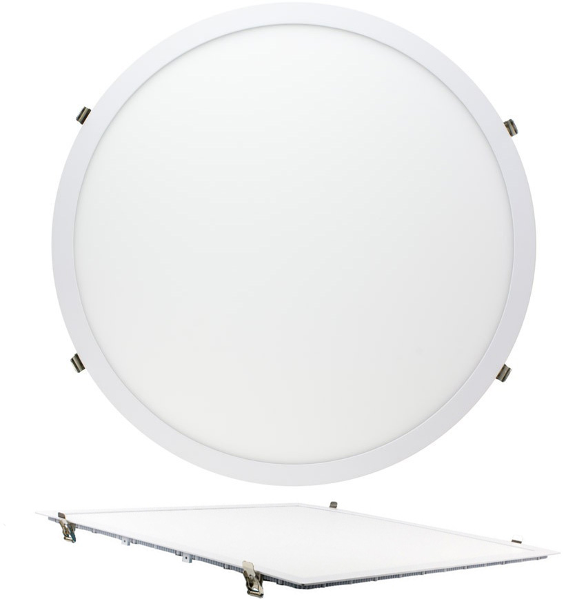 Downlight LED SuperSlim Redondo / Cuadrado 60cm 48W